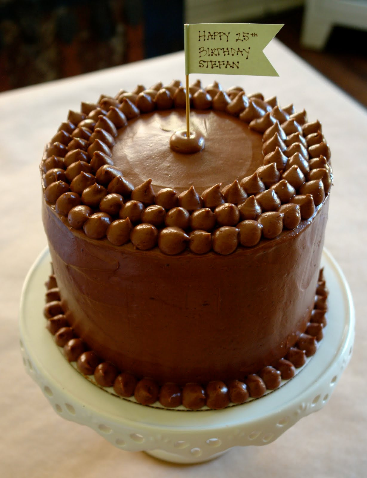 Best ideas about Chocolate Birthday Cake Recipes . Save or Pin K Bakes 4 Layer Birthday Cake Now.