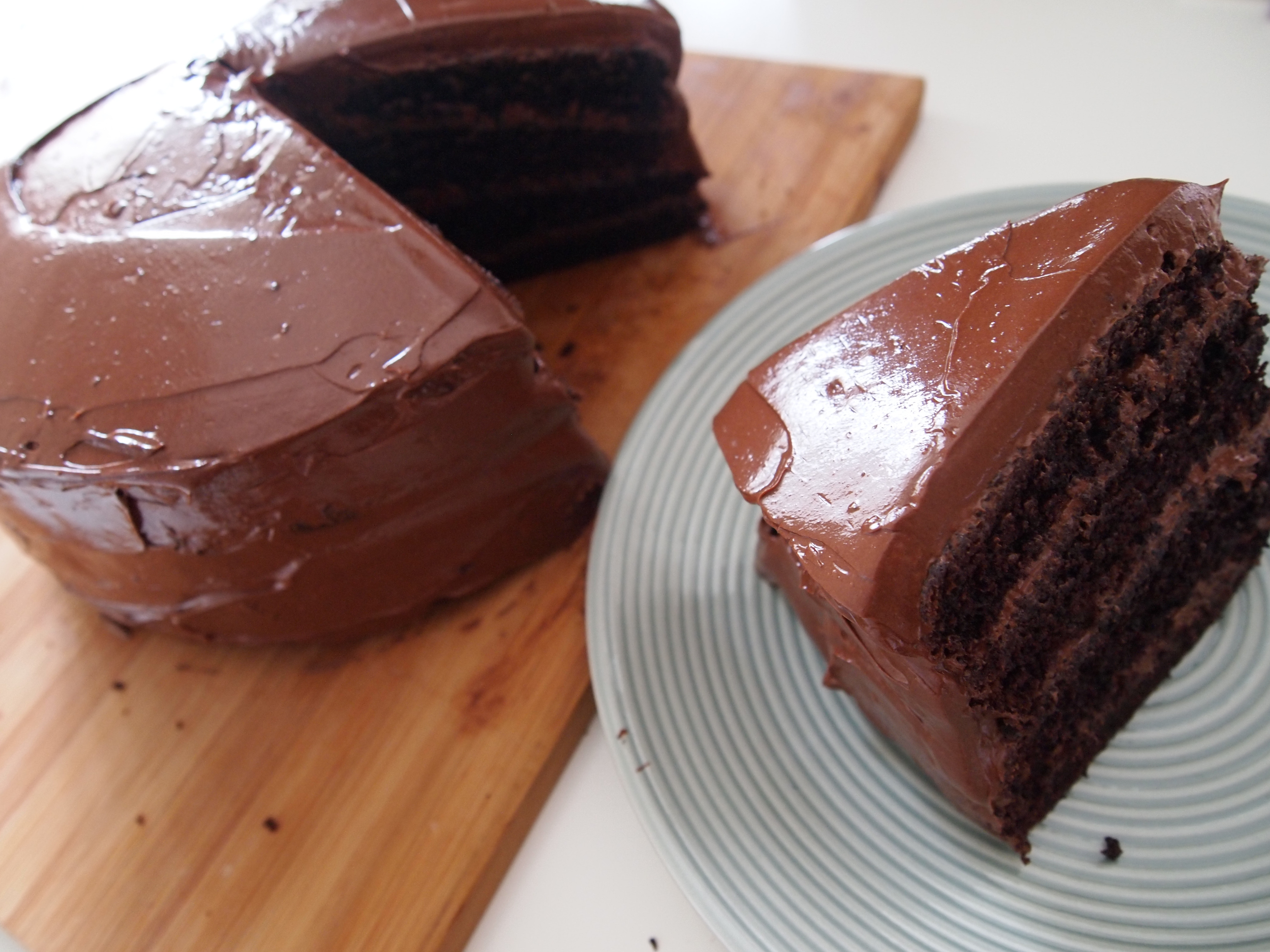 Best ideas about Chocolate Birthday Cake Recipes . Save or Pin The ly Chocolate Birthday Cake Recipe You Ever Need Now.