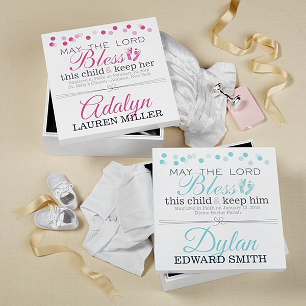 Best ideas about Christening Gift Ideas . Save or Pin Personalized Christening & Baptism Gifts at Personal Creations Now.
