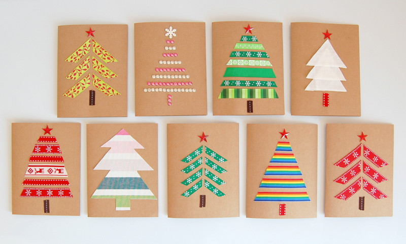 Best ideas about Christmas Card Craft Ideas . Save or Pin DIY Christmas Cards northstory Now.