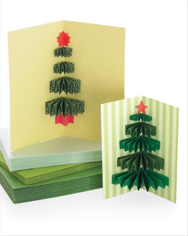Best ideas about Christmas Card Craft Ideas . Save or Pin Fun Christmas Craft Ideas 25 Pics Now.