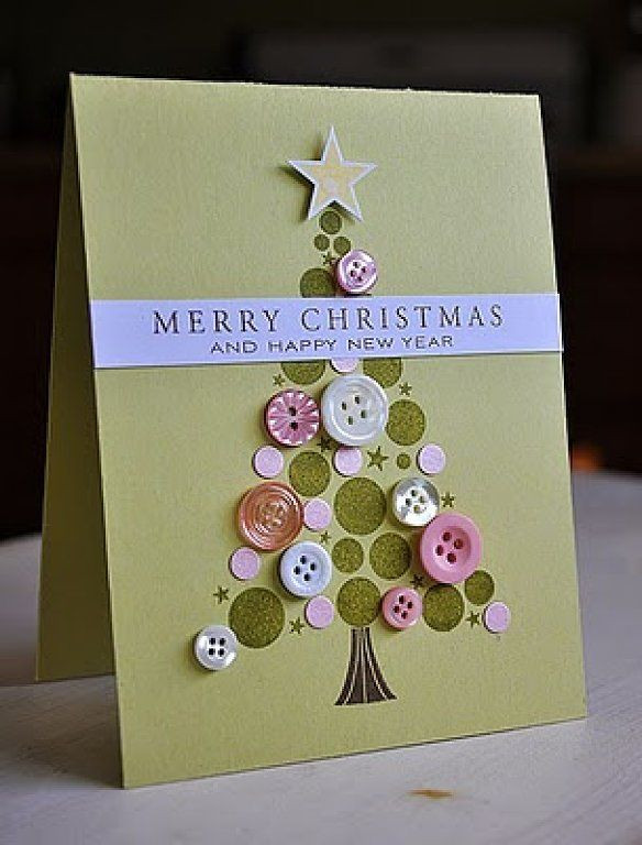 Best ideas about Christmas Card Craft Ideas . Save or Pin 17 Best ideas about Homemade Christmas Cards on Pinterest Now.