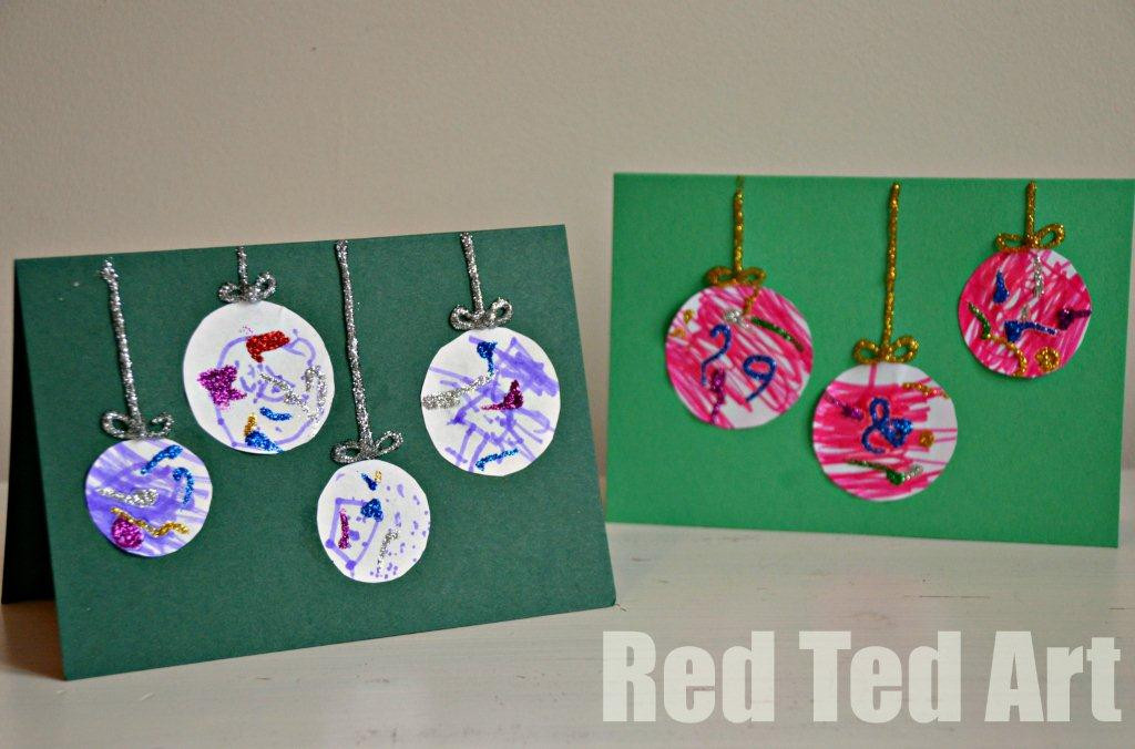 Best ideas about Christmas Card Craft Ideas . Save or Pin Top Five Christmas Crafts From Red Ted Art Mum e Now.
