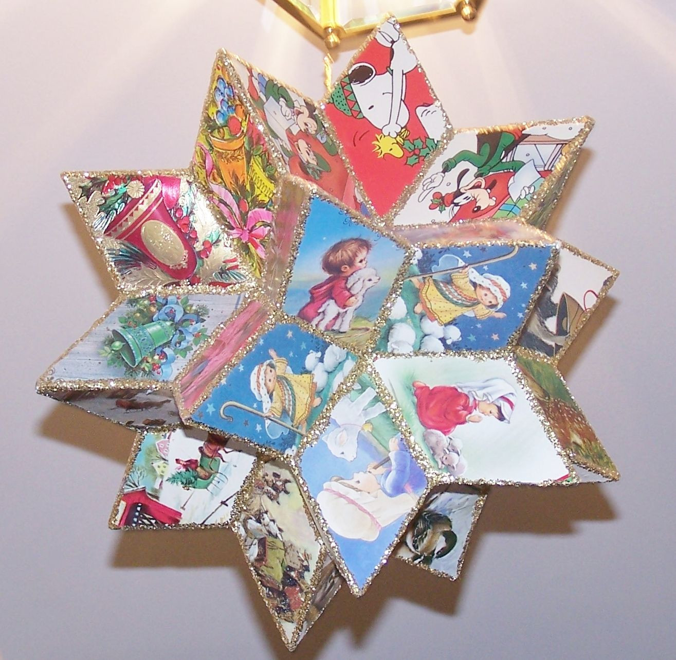 Best ideas about Christmas Card Craft Ideas . Save or Pin A t made by my friend & her husband My most favorite Now.