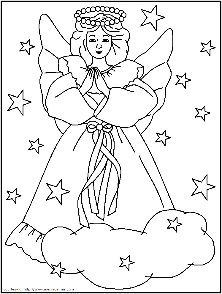 Best ideas about Christmas Christian Coloring Pages For Kids . Save or Pin Free Religious Christmas Coloring Pages AZ Coloring Pages Now.