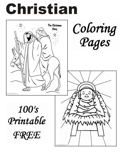 Best ideas about Christmas Christian Coloring Pages For Kids . Save or Pin 25 best ideas about Christian christmas on Pinterest Now.