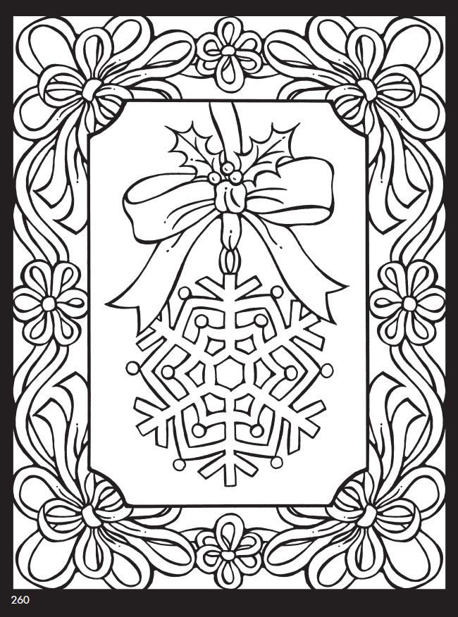Best ideas about Christmas Coloring Pages For Adults Pdf . Save or Pin 434 best seasonal coloring pages images on Pinterest Now.