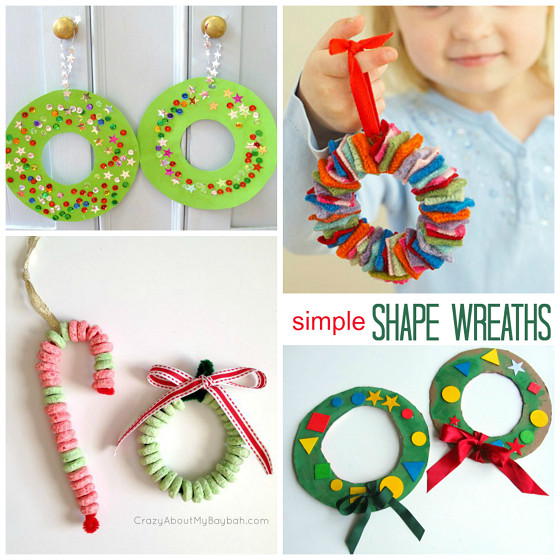 Best ideas about Christmas Craft Ideas For Children . Save or Pin Christmas Wreath Craft Ideas for Kids Crafty Morning Now.