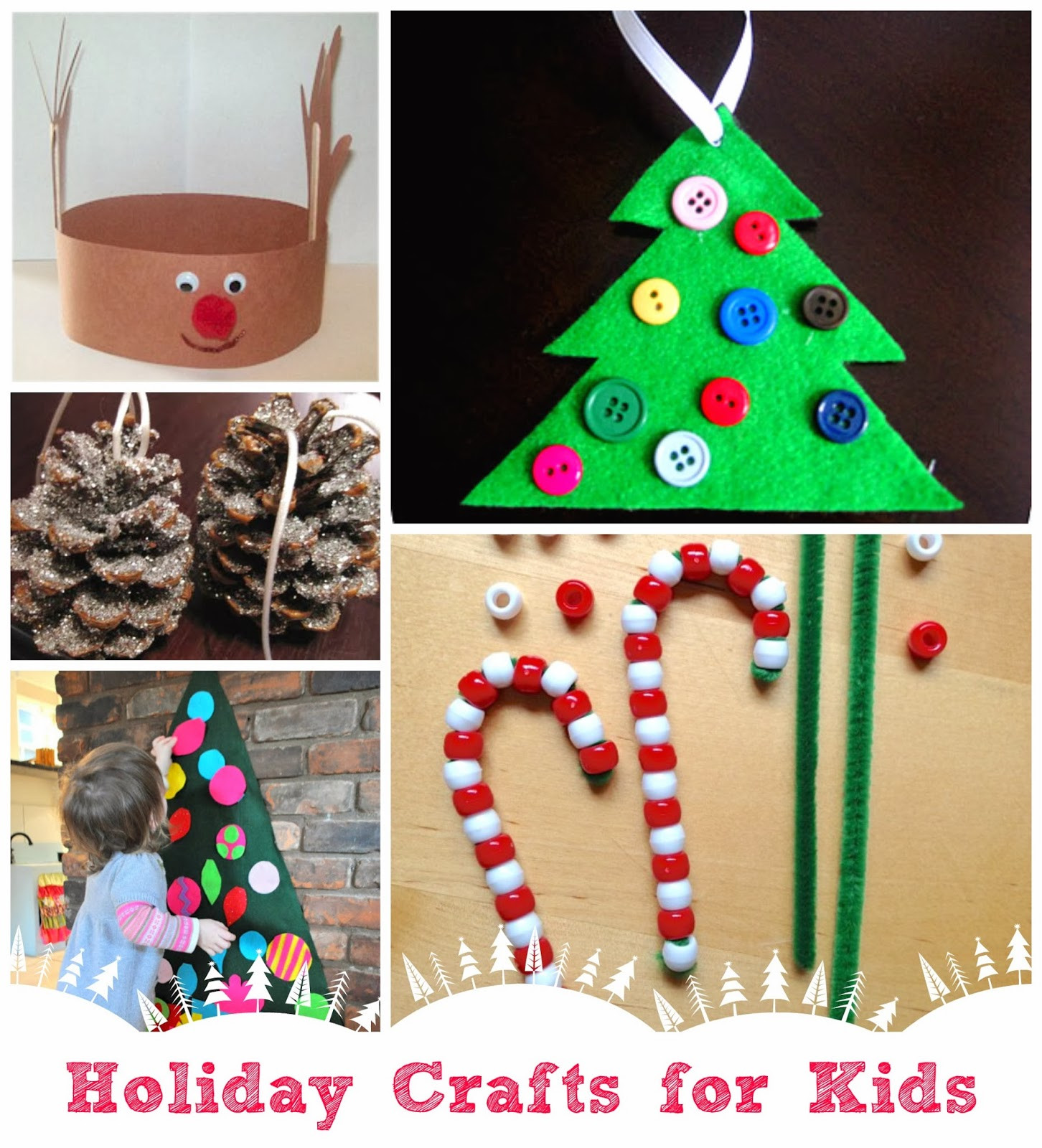 Best ideas about Christmas Craft Ideas For Children . Save or Pin Parent Talk Matters Blog Holiday Craft Ideas for Kids Now.