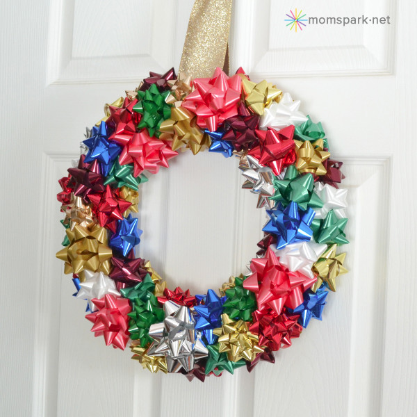 Best ideas about Christmas Crafts For Seniors . Save or Pin DIY Holiday Bow Wreath Tutorial Now.