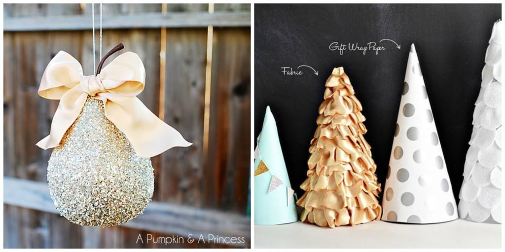 Best ideas about Christmas Decoration DIY Pinterest . Save or Pin 10 Gorgeous DIY Christmas Decorations Now.
