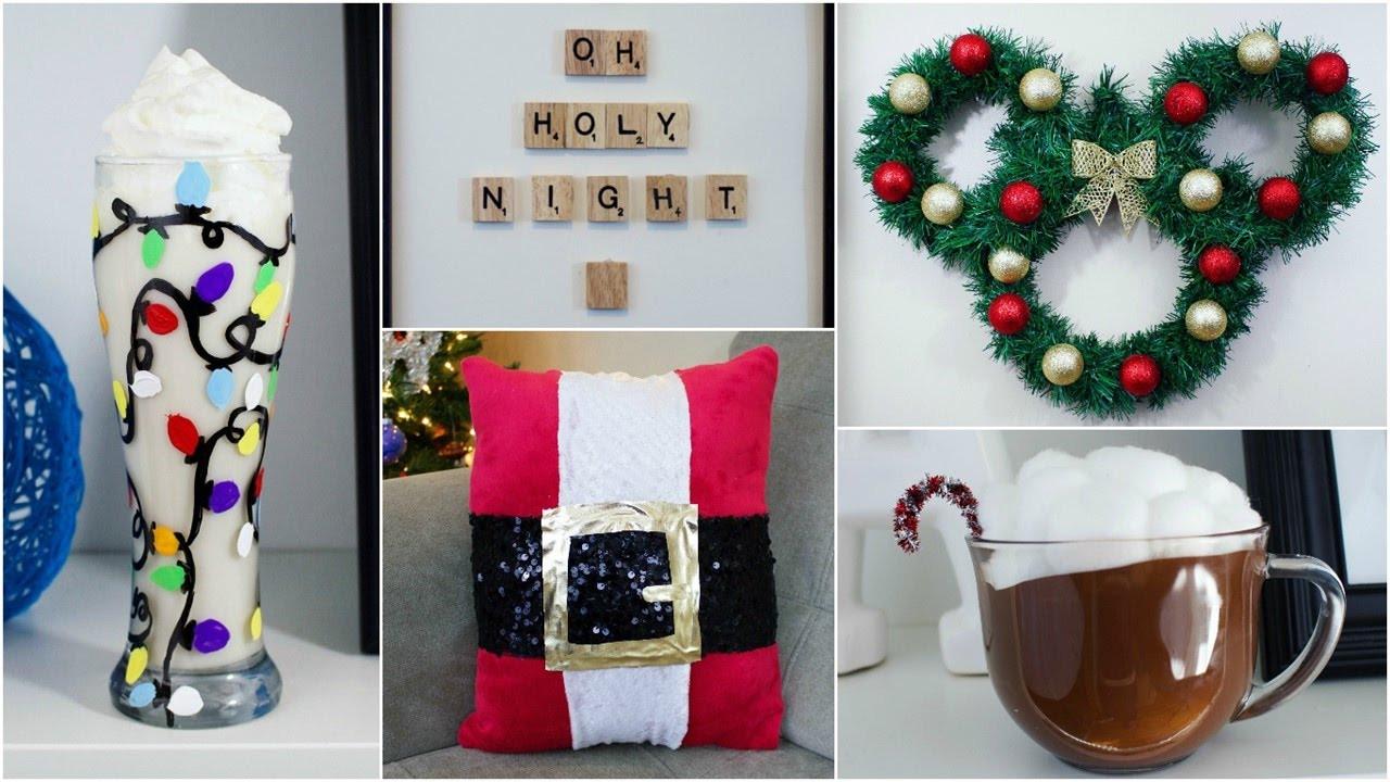 Best ideas about Christmas Decoration DIY Pinterest . Save or Pin CHEAP & EASY DIY CHRISTMAS DECOR IDEAS Now.