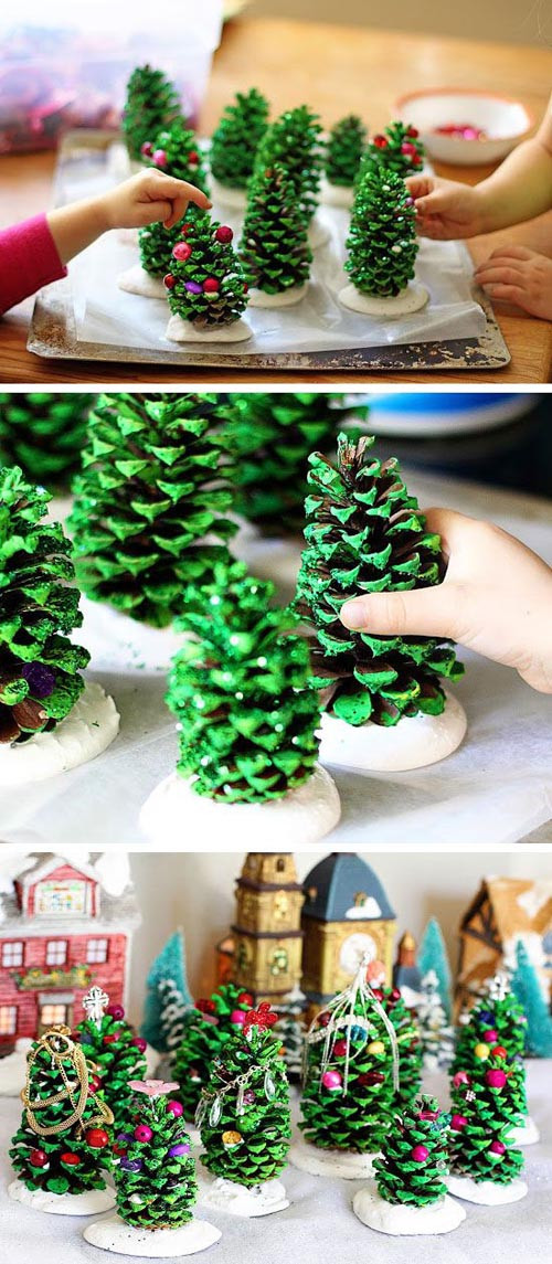 Best ideas about Christmas Decoration DIY Pinterest . Save or Pin 22 Beautiful DIY Christmas Decorations on Pinterest Now.
