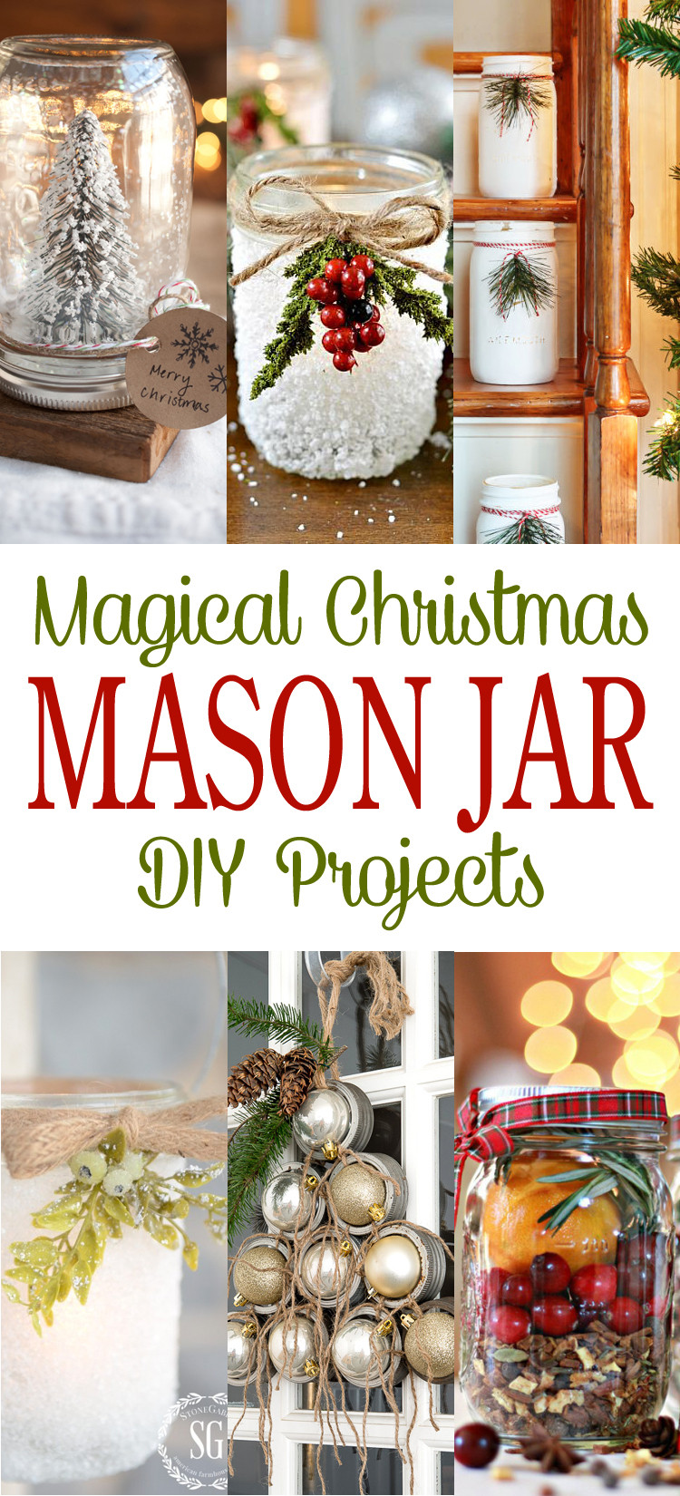 Best ideas about Christmas DIY Ideas . Save or Pin Magical Christmas Mason Jar DIY Projects The Cottage Market Now.