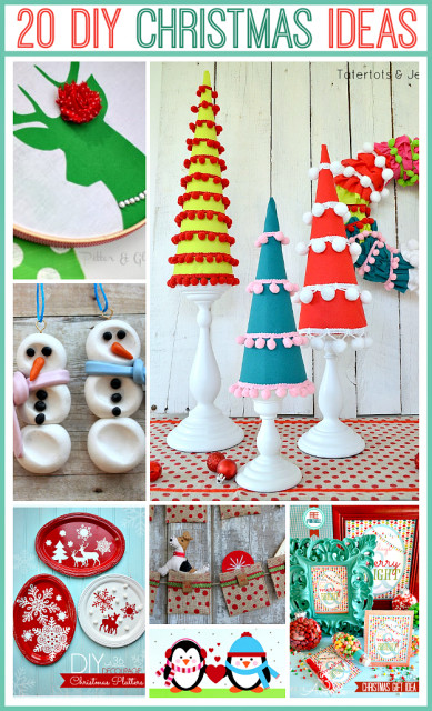 Best ideas about Christmas DIY Ideas . Save or Pin 20 ADORABLE Handmade Christmas Projects at the36thavenue Now.