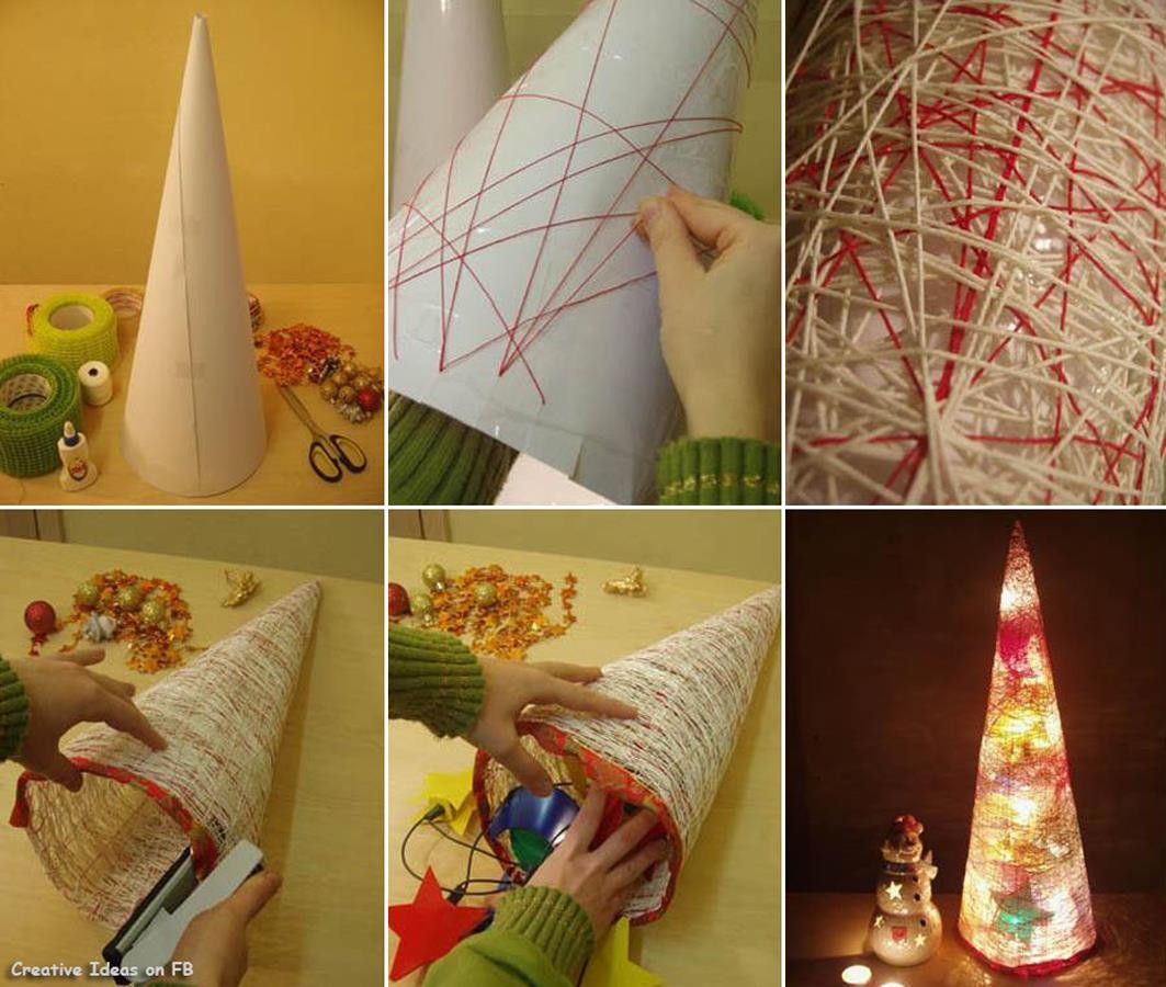 Best ideas about Christmas DIY Ideas . Save or Pin Easy DIY Christmas Tree s and for Now.