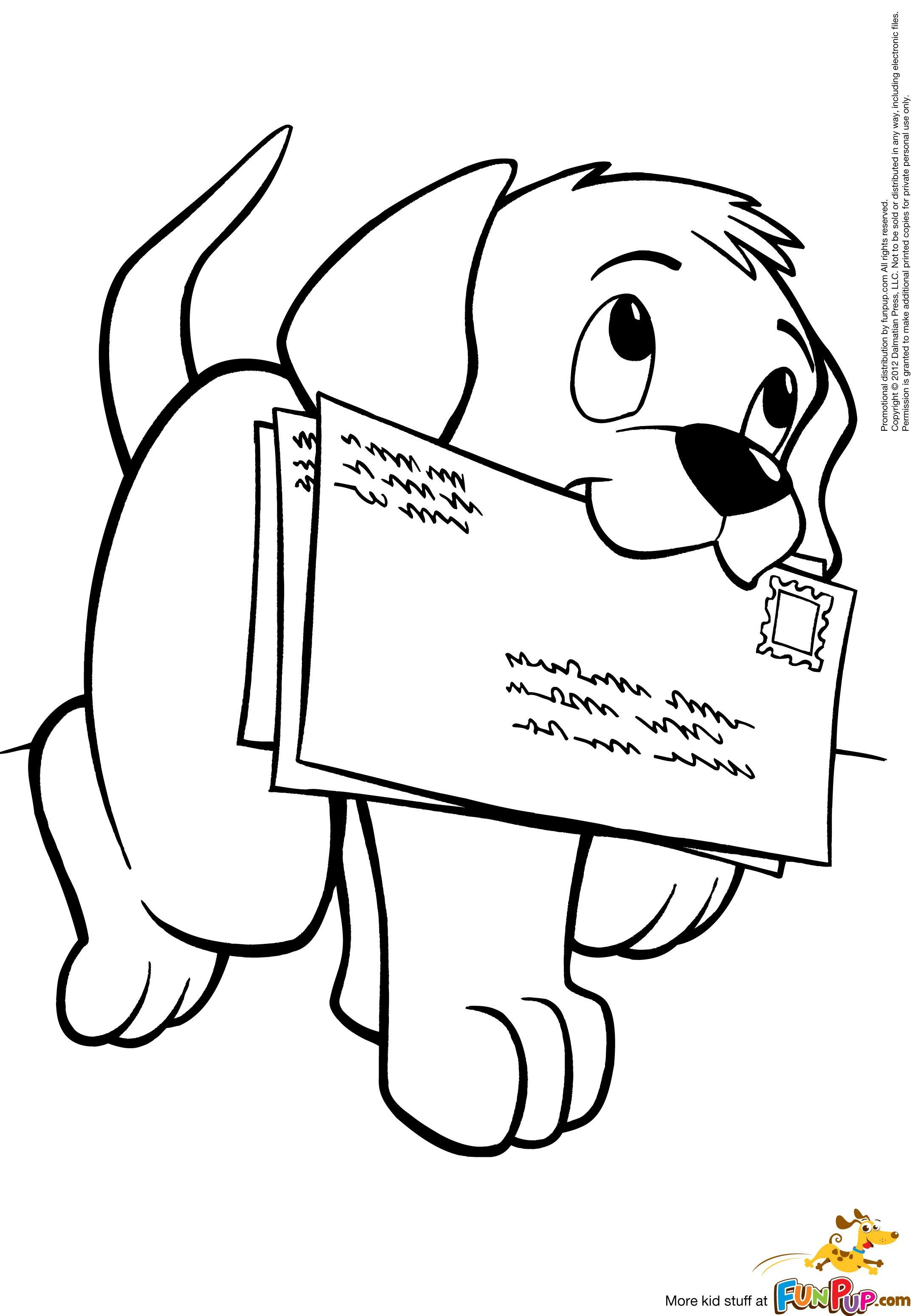 Best ideas about Christmas Dog Coloring Pages For Kids . Save or Pin Free Printable Coloring Pages Printables Now.
