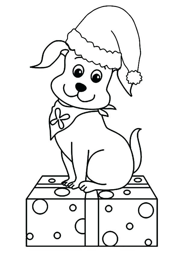 Best ideas about Christmas Dog Coloring Pages For Kids . Save or Pin Cute Coloring Pages Best Coloring Pages For Kids Now.