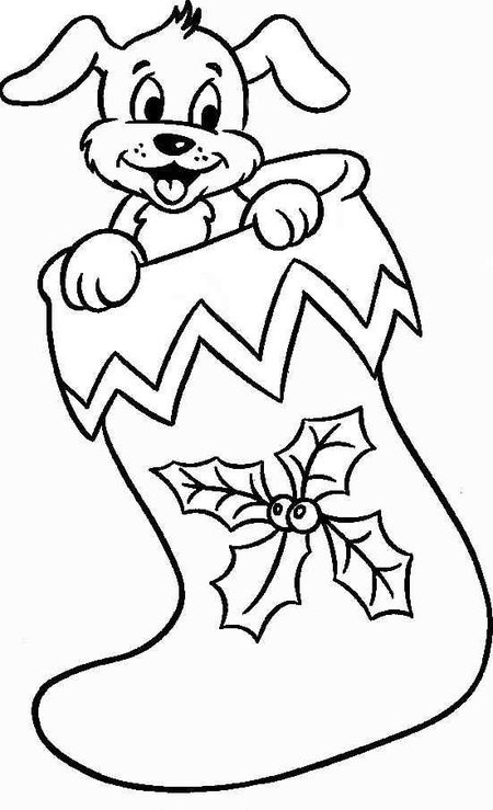 Best ideas about Christmas Dog Coloring Pages For Kids . Save or Pin Christmas Puppies Coloring Pages for Kids Disney Now.