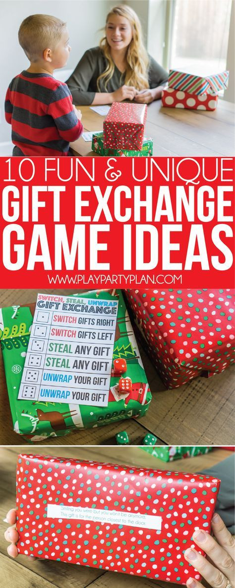 Best ideas about Christmas Gift Game Ideas . Save or Pin 25 unique Gift exchange games ideas on Pinterest Now.