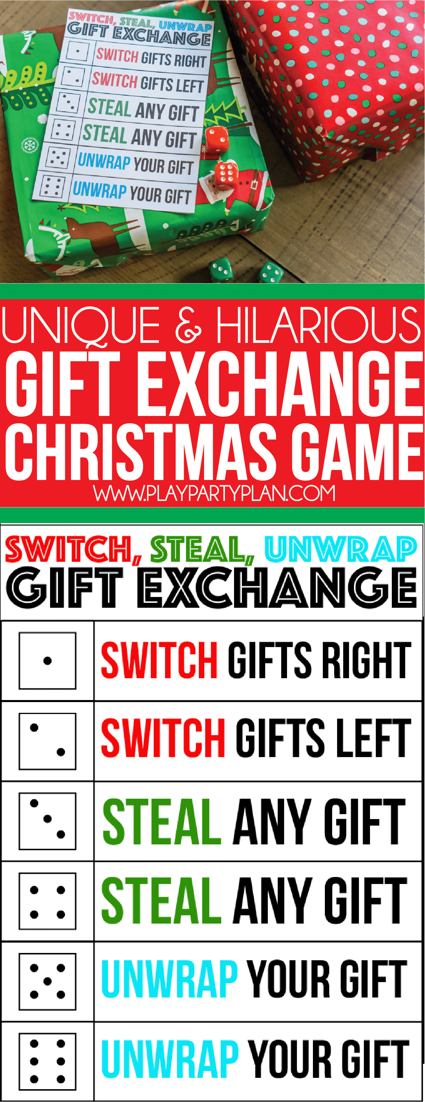 Best ideas about Christmas Gift Game Ideas . Save or Pin The Best Gift Exchange Game Ever Switch Steal or Unwrap Now.