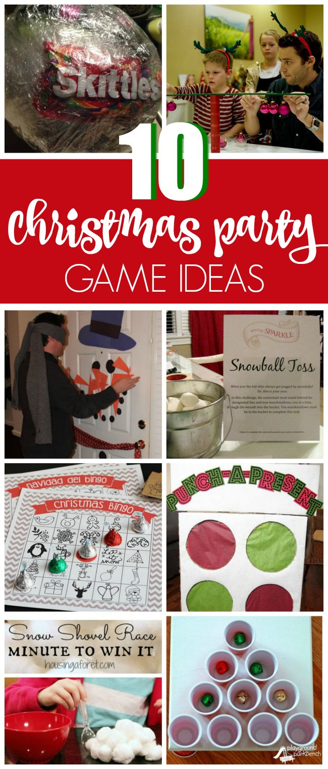 Best ideas about Christmas Gift Game Ideas . Save or Pin 10 Christmas Party Game Ideas Pretty My Party Now.