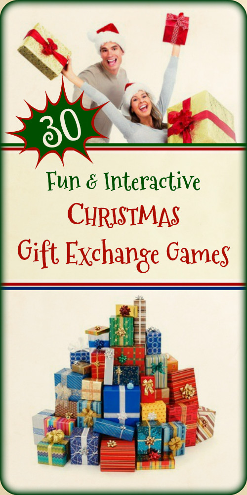 Best ideas about Christmas Gift Game Ideas . Save or Pin 30 Christmas Gift Exchange Game Ideas Now.