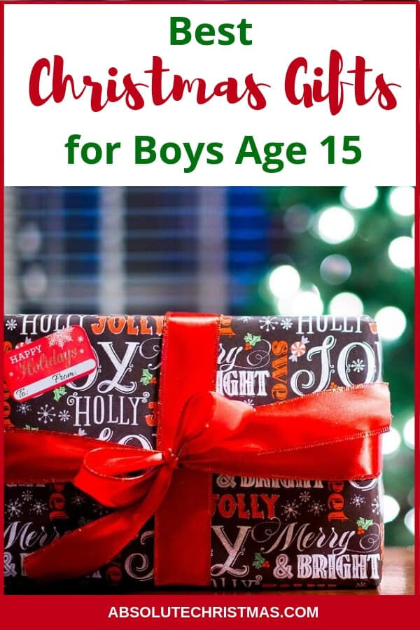 Best ideas about Christmas Gift Ideas 15 Year Old Boy . Save or Pin Christmas Gifts For 15 Year Old Boys 2019 • Absolute Christmas Now.