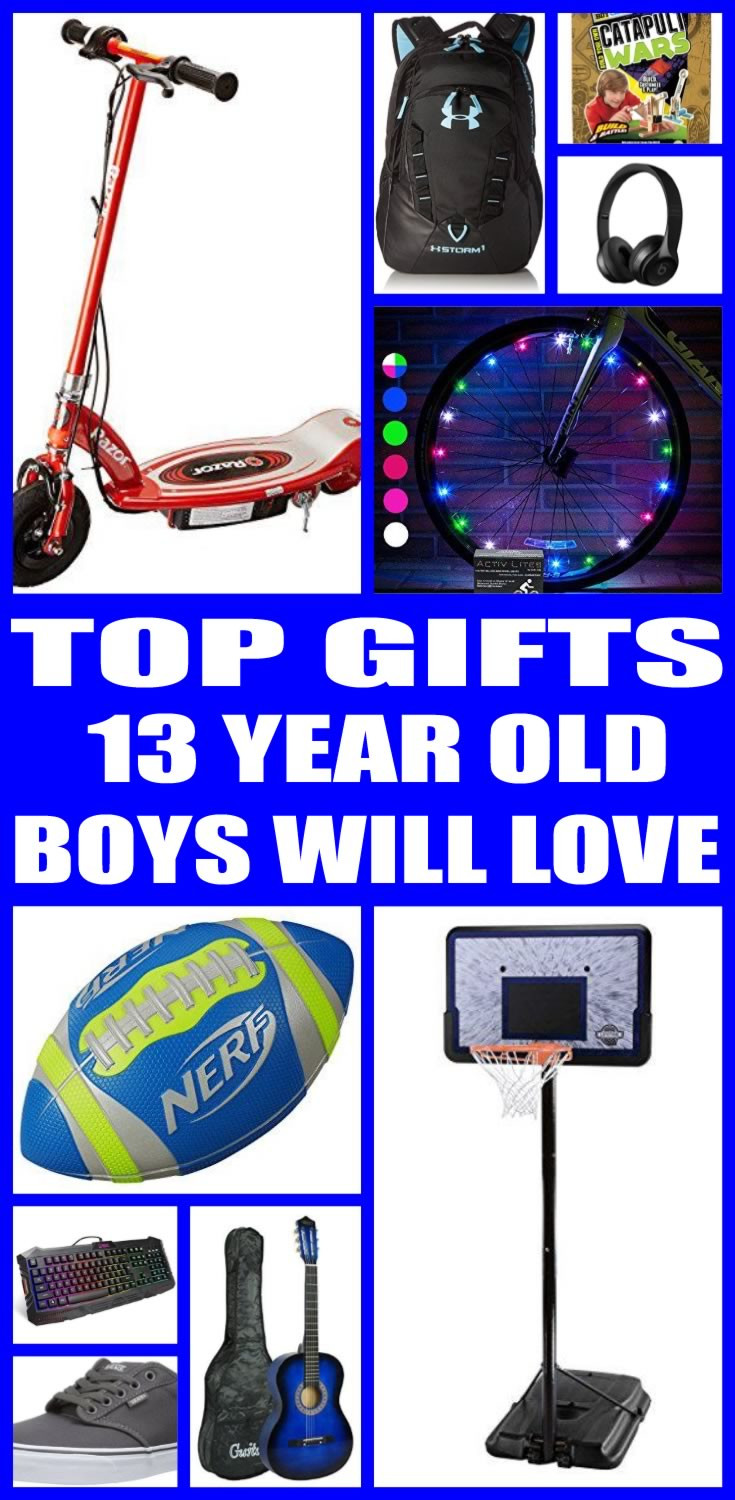 Best ideas about Christmas Gift Ideas For 13 Yr Old Boys . Save or Pin Best Gifts for 13 Year Old Boys Now.