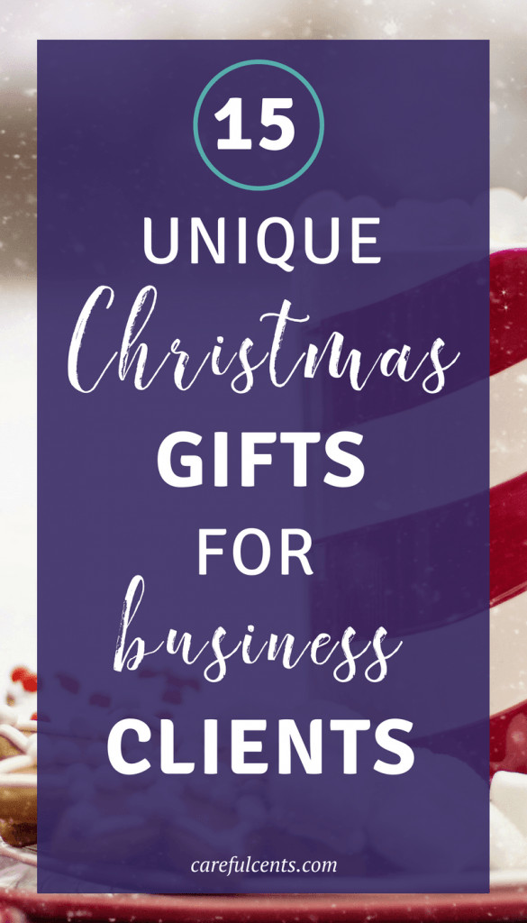 Best ideas about Christmas Gift Ideas For Clients . Save or Pin 15 Unique Gifts for Clients That Cost Less Than $40 Each Now.