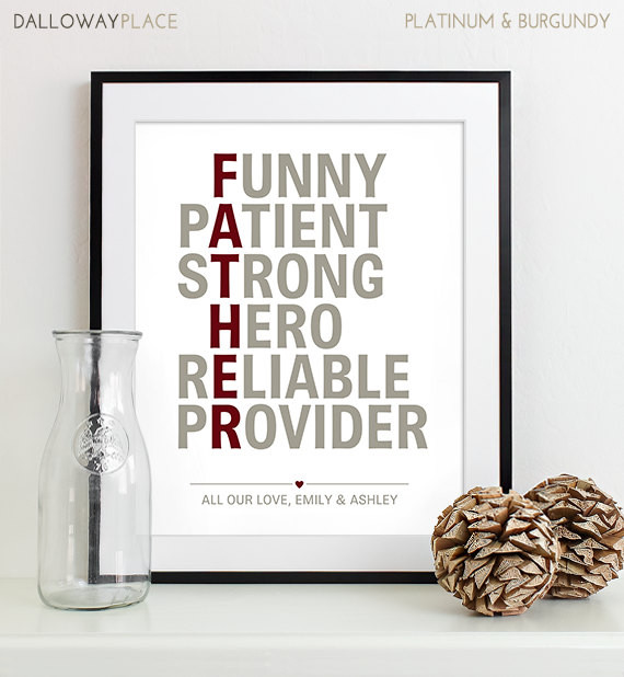 Best ideas about Christmas Gift Ideas For Dad From Daughter . Save or Pin Christmas Gift for Dad Gift Father Gift for Fathers Day Gift Now.