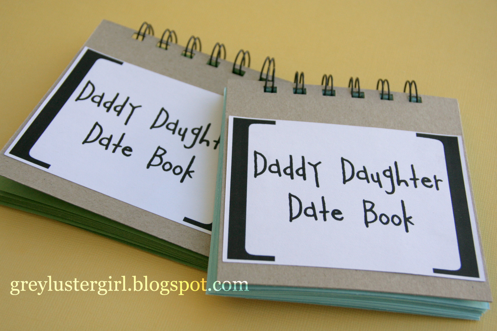 Best ideas about Christmas Gift Ideas For Dad From Daughter . Save or Pin Daddy Daughter Date Book great fathers day t A page Now.