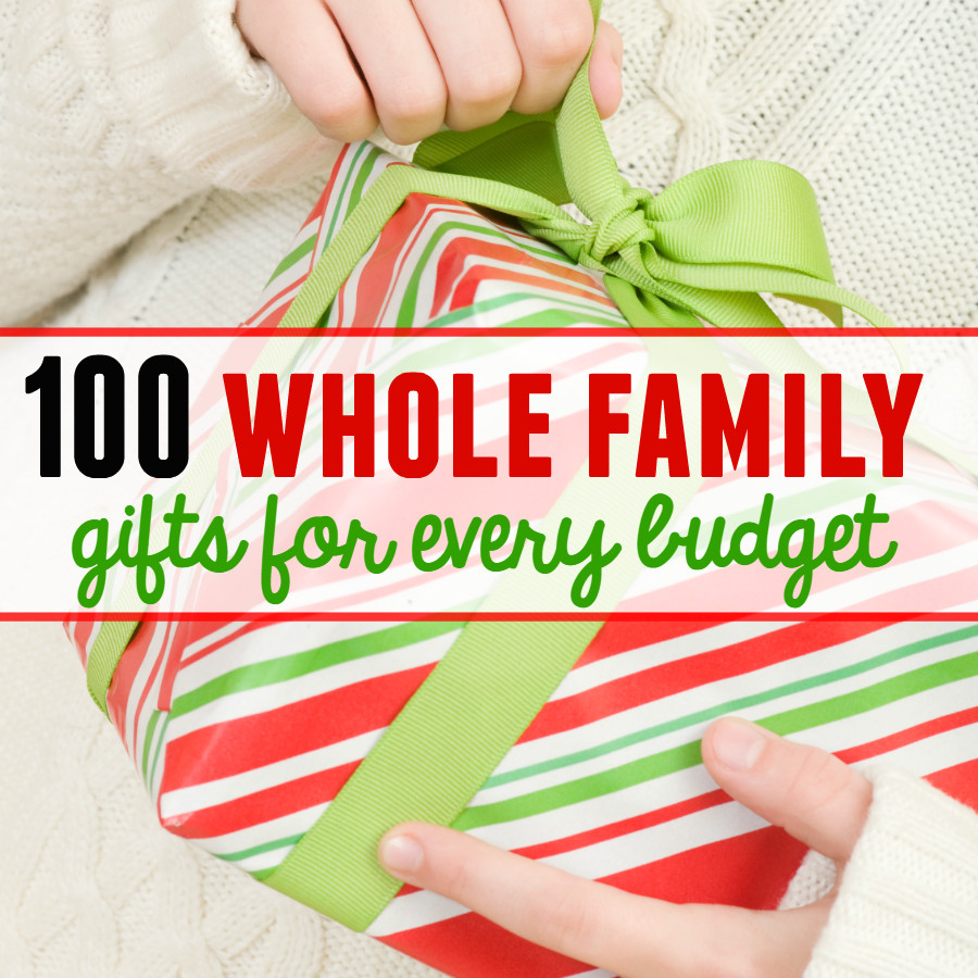 Best ideas about Christmas Gift Ideas For Family . Save or Pin 100 family t ideas with something for every bud Now.