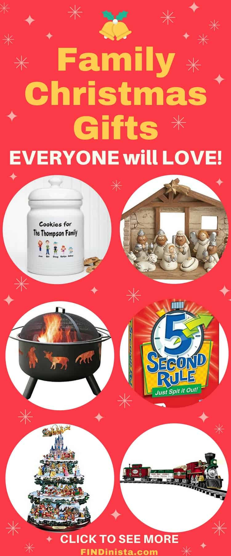 Best ideas about Christmas Gift Ideas For Family . Save or Pin Best Family Gift Ideas for Christmas Fun Gifts the Whole Now.