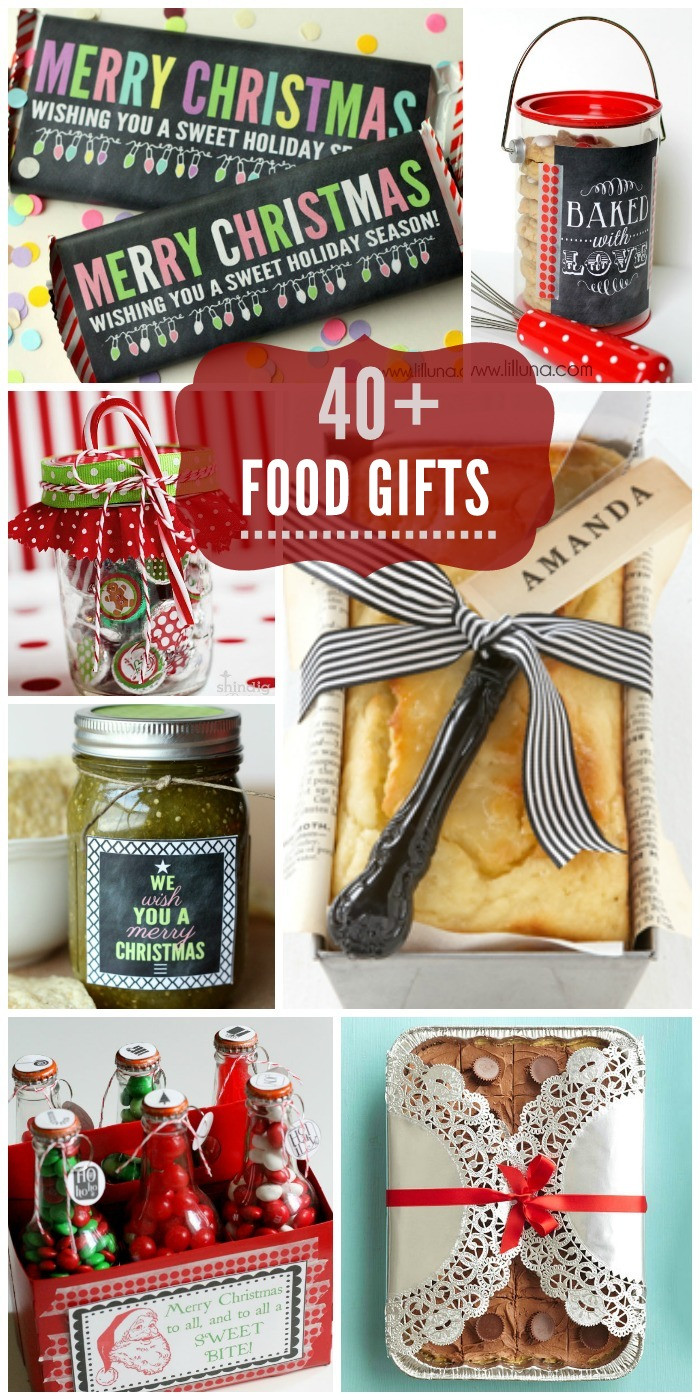 Best ideas about Christmas Gift Ideas For Family . Save or Pin Food Gift Ideas Now.