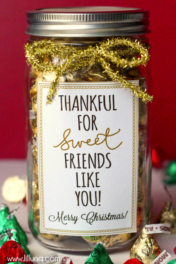 Best ideas about Christmas Gift Ideas For Friends . Save or Pin 37 Mason Jar Christmas Crafts Fun DIY Holiday Craft Projects Now.