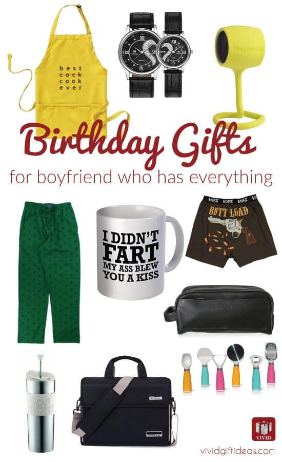 Best ideas about Christmas Gift Ideas For Husband Who Has Everything . Save or Pin 12 Best Birthday Gift Ideas for Boyfriend Who Has Now.