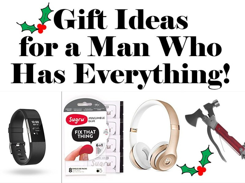 Best ideas about Christmas Gift Ideas For Husband Who Has Everything . Save or Pin Last Minute Gifts for the Man Who Has Everything Tips Now.