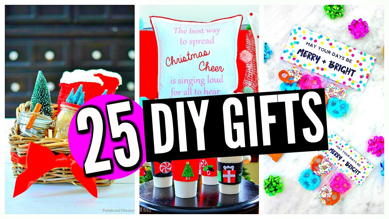Best ideas about Christmas Gift Ideas For Mom And Dad . Save or Pin 25 DIY Christmas Gifts For Friends Family Boyfriend Now.