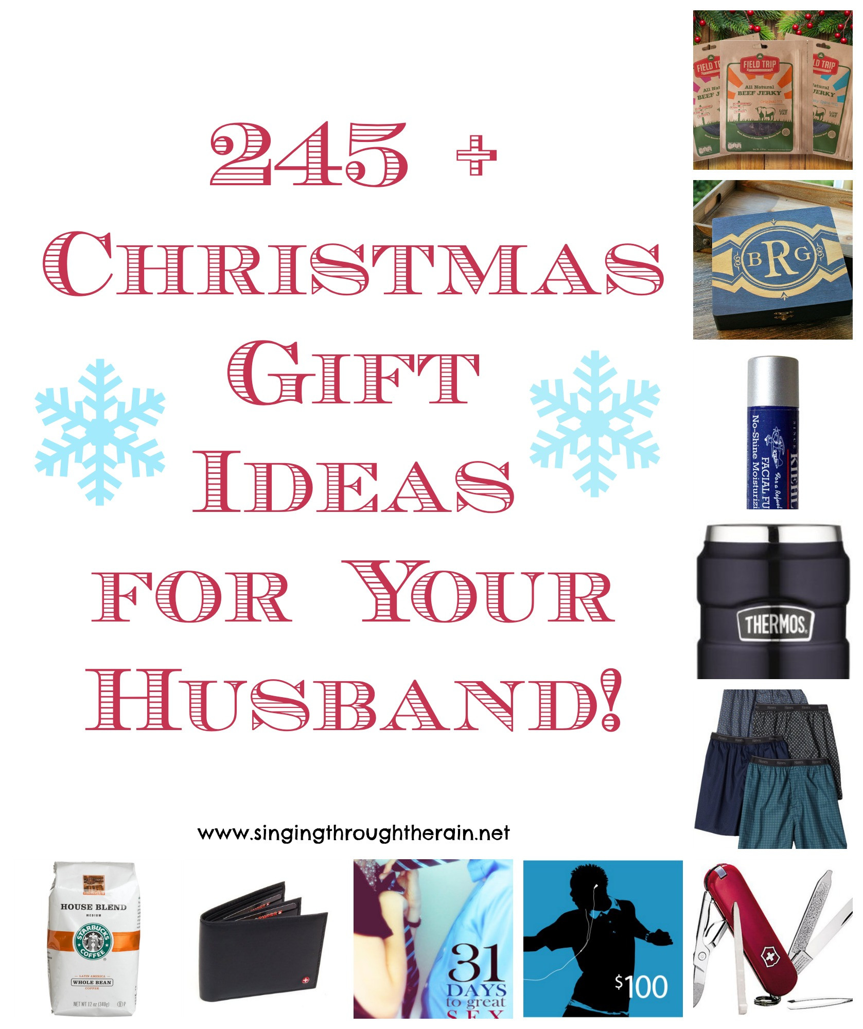 Best ideas about Christmas Gift Ideas For My Husband . Save or Pin 245 Christmas Gift Ideas for Your Husband Now.