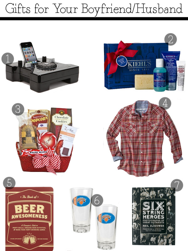 Best ideas about Christmas Gift Ideas For My Husband . Save or Pin Christmas Gifts for Your Boyfriend Husband Now.