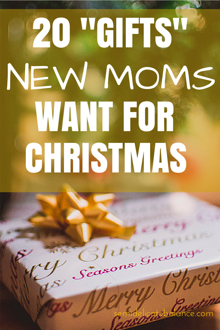 """Best ideas about Christmas Gift Ideas For New Moms . Save or Pin Here are 20 """"Gifts"""" New Moms Want for Christmas Now."""