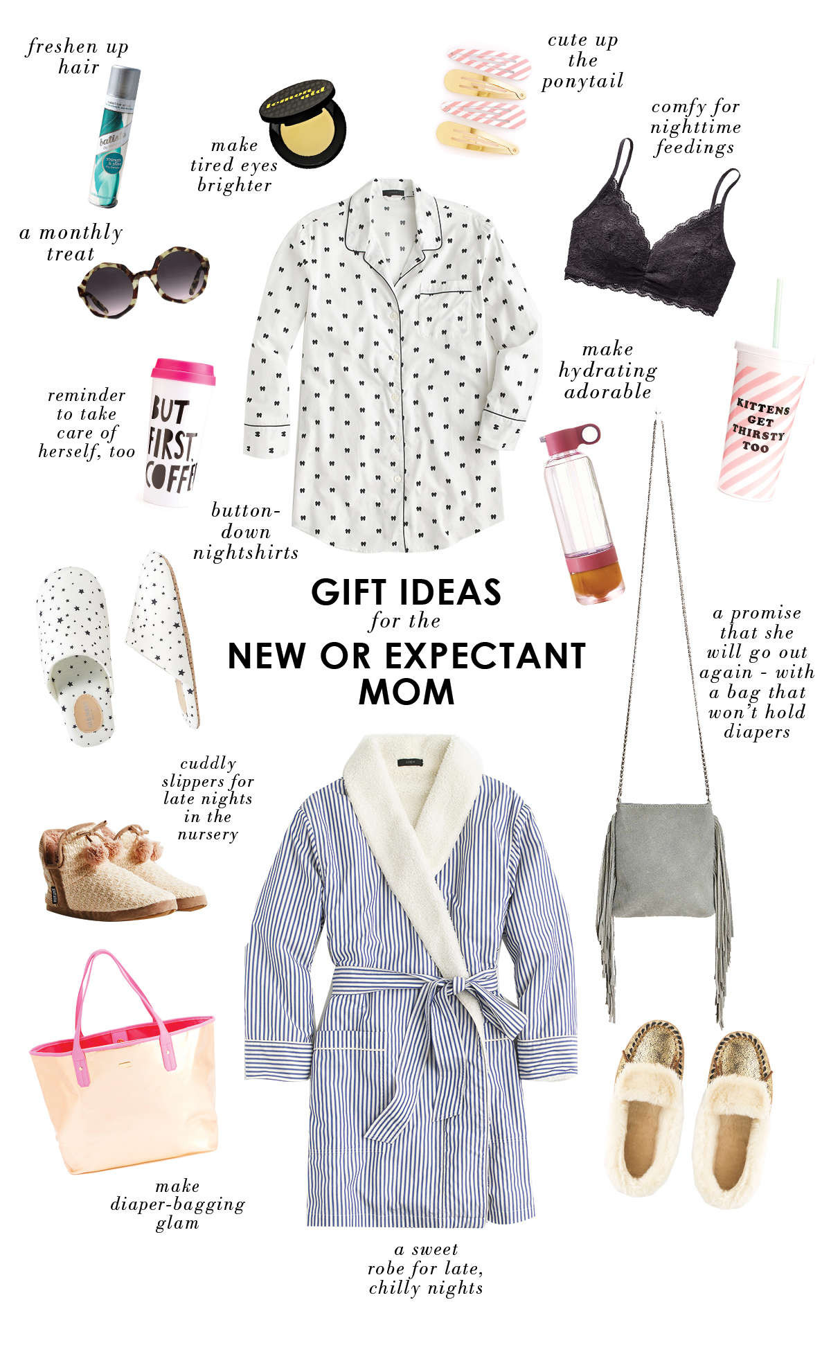 Best ideas about Christmas Gift Ideas For New Moms . Save or Pin t ideas for a new or expectant mom Lay Baby Lay Lay Now.