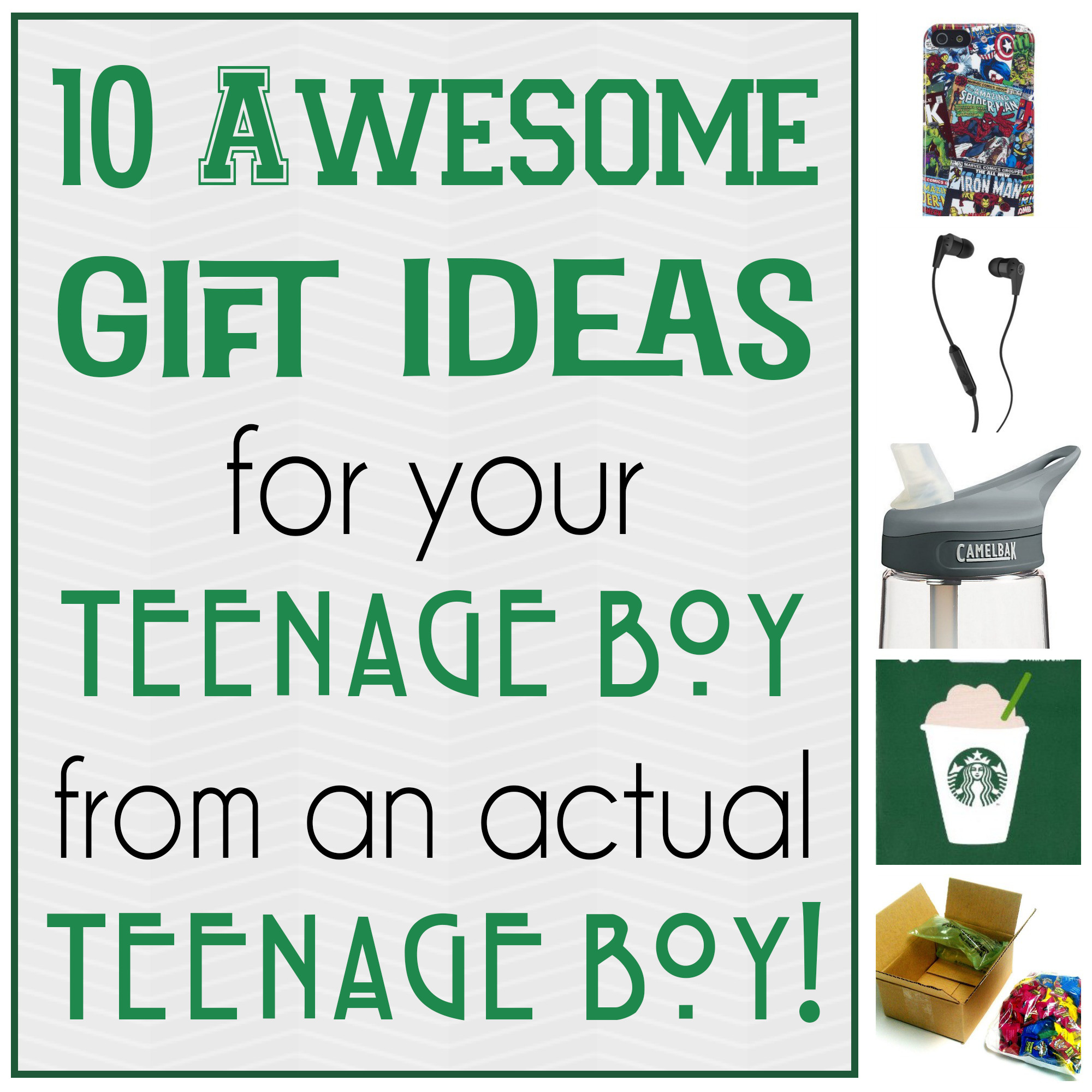 Best ideas about Christmas Gift Ideas For Teen Boys . Save or Pin 10 Awesome Gift Ideas for Teenage Boys Now.