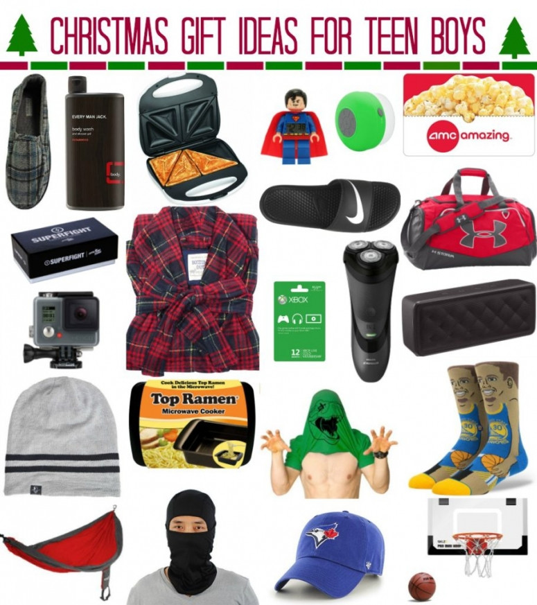 Best ideas about Christmas Gift Ideas For Teen Boys . Save or Pin Christmas Gift Ideas for Teen Boys whatever Now.