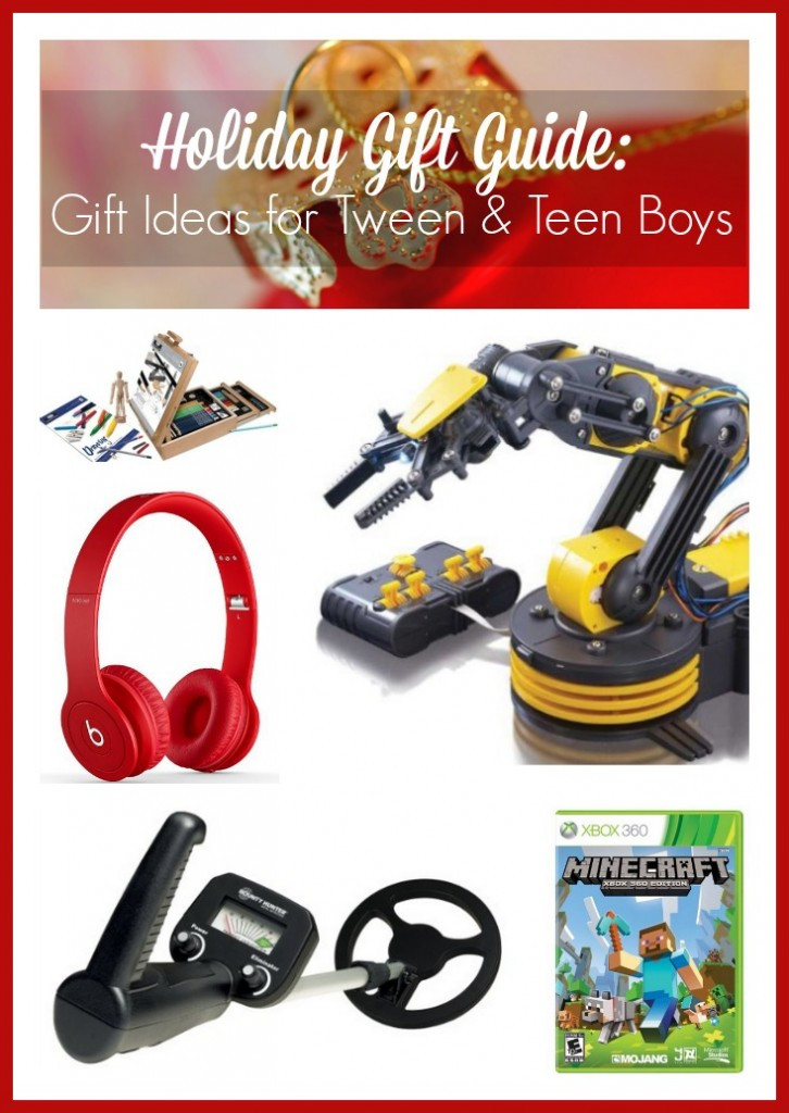 Best ideas about Christmas Gift Ideas For Tween Boys . Save or Pin Holiday Gift Guide Gift Ideas for Tween & Teen Boys Now.
