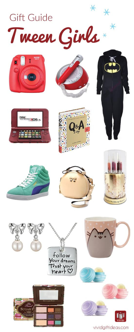 Best ideas about Christmas Gift Ideas For Tweens . Save or Pin Cool Holiday Gift Guide for Tweens Vivid s Gift Ideas Now.