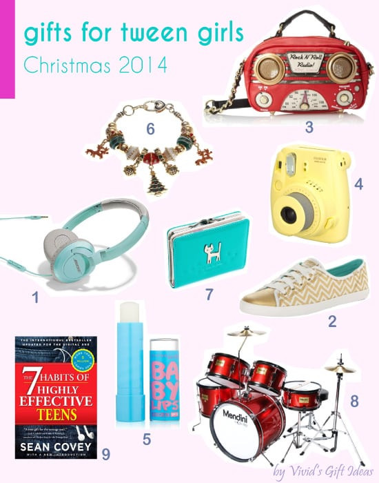 Best ideas about Christmas Gift Ideas For Tweens . Save or Pin 12 Christmas Gift Ideas for Tween Girls Vivid s Now.