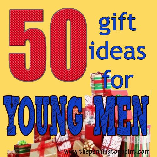 Best ideas about Christmas Gift Ideas For Young Men . Save or Pin 50 t ideas for young men they are SO hard to for Now.