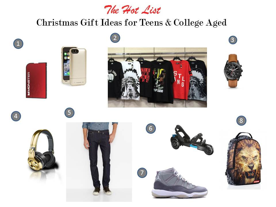 Best ideas about Christmas Gift Ideas For Young Men . Save or Pin Christmas t giving guide for tweens teens and college Now.